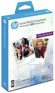HP Social Media Snapshots Photo Sticker Paper - 25 Sheet £4.99 at Argos eBay
