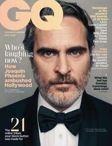 GQ Magazine - 11 issues for £12.00 delivered + FREE digital editions @ Magazines.co.uk