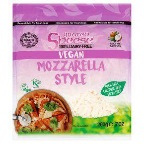 Sheese Vegan Grated Mozzarella Style 200g £1.87 at Waitrose & Partners