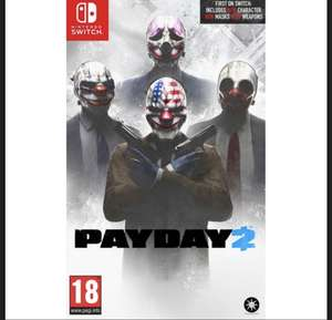 PAYDAY 2 Nintendo Switch £20.95 at The Game Collection