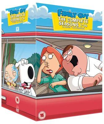 Family Guy: Seasons 1-14 DVD - £18.99 @ Base