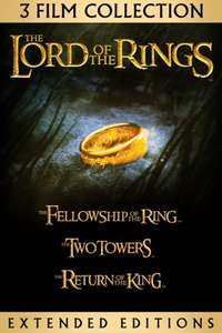Lord of the Rings Trilogy Extended (HD) £19.82 / Lord of the Rings Trilogy & The Hobbit Trilogy Extended (HD) £31.72 @ iTunes US