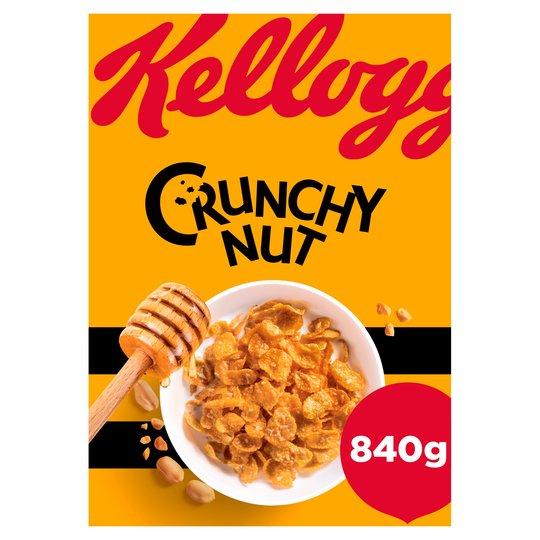 Kellogg's Crunchy Nut 840G £3 @ Tesco