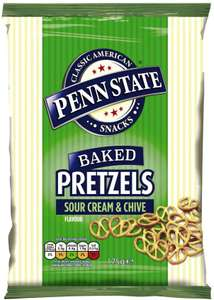 Penn State 8 x 175G Sour Cream & Chive £14.99 (Prime) £19.48 (Non Prime) @ Sold by net market and Fulfilled by Amazon.