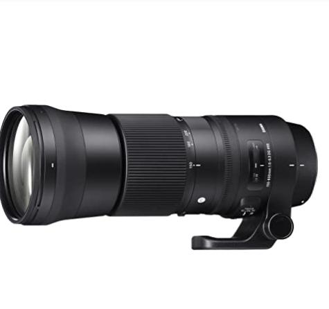 Sigma 150-600mm f5-6.3 DG OS HSM Contemporary Canon Mount Lens £749 Amazon