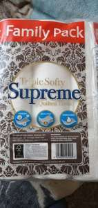 Triple Softy Supreme Quilted 3ply Toilet Tissue 24 Rolls £6 @ Tesco