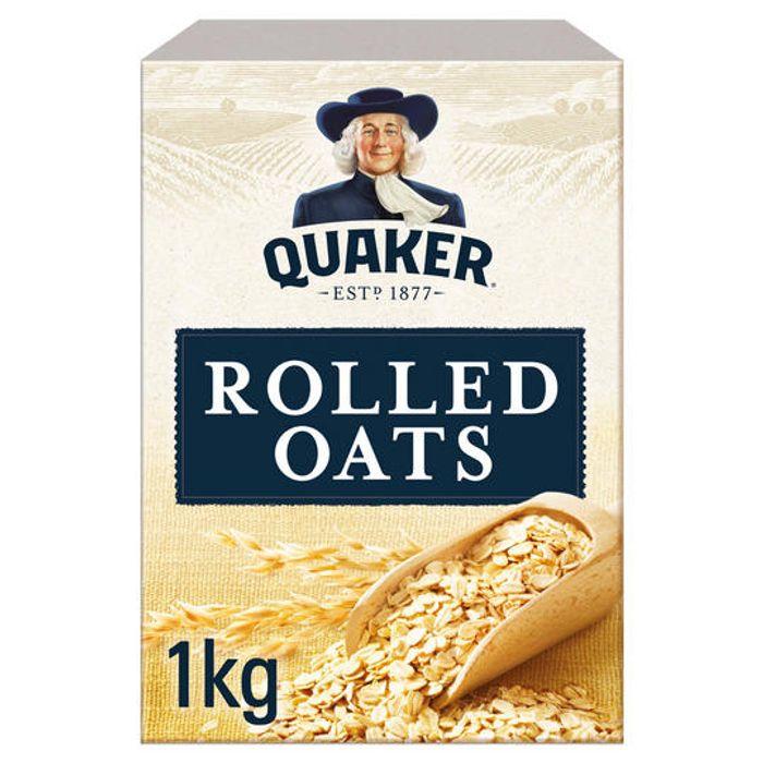 2 x 1kg Quaker Porridge Oats £3 @ Iceland