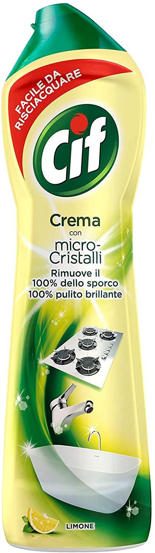 Cif lemon cream with Microparticles 500ml £1 (Prime) / £5.49 (Non Prime) delivered @ Amazon
