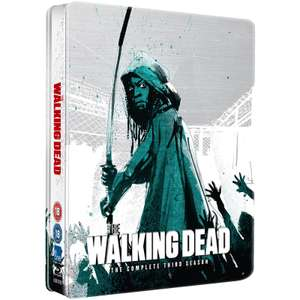 The Walking Dead: Season 3 - Limited Edition Steelbook - £4.99 + Free Delivery Using Code @ Zavvi