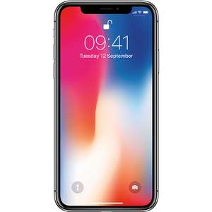 "Brand New Apple iPhone X Space Grey 5.8"" 256GB 4G Unlocked & SIM Free - £599.97 @ La[tops Direct"