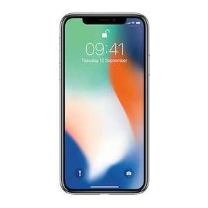 Apple iPhone X 64GB Silver in Very good (B grade) Condition £ 439.99 at Music Magpie