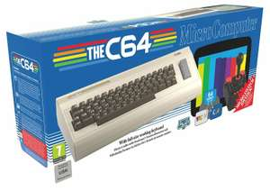 The C64 Retro Console with 64 Pre-Installed Games - £109.99 delivered @ Argos / eBay