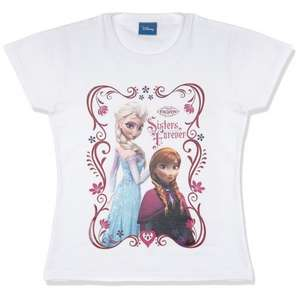 Frozen: Sisters Forever T-Shirt (Ages 3 to 8) £5.95 delivered @ The Game Collection