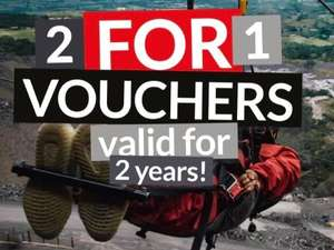 2 for 1 tickets at all Zipworld attractions at Zip World