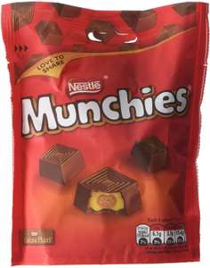 Nestle Munchies Pouch, 104 g (Pack of 8) £8 (Prime) £12.49 (Non Prime) at Amazon