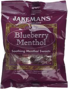 Jakemans Blueberry/Honey & Lemon Bags, 100 g - 60p (+£4.49 NP) @ Amazon