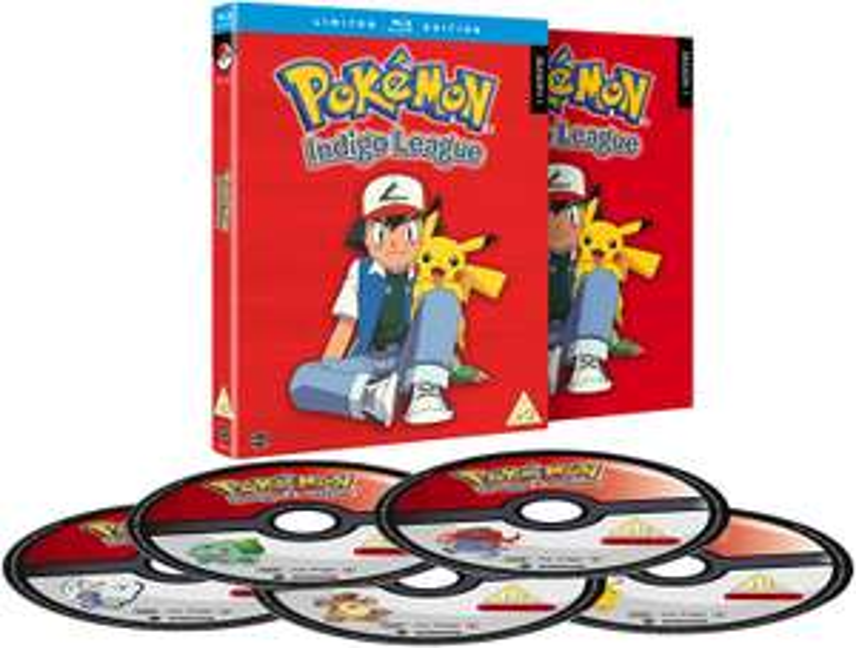Pokémon Indigo League: Season 1 (5 Disc Blu-ray Boxset) £17.49 delivered @ Base