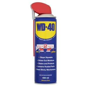 Wd 40 Smart Straw 450Ml £2.75 @ Tesco (Min basket £40 + up to £4 delivery)
