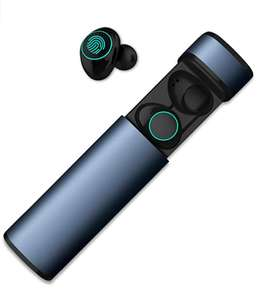 HolyHigh Bluetooth 5.0 Earphones - Noise canceling, Blue £13.99 Sold by HolyHigh EU and Fulfilled by Amazon.