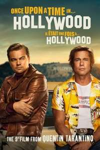 Once Upon A Time in Hollywood 4K 57p to rent at iTunes Canada