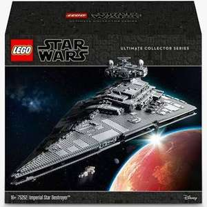 Lego 75252 Imperial Star Destroyer £549.99 John Lewis & Partners