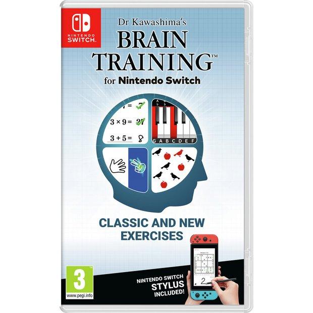 Nintendo Switch - Dr Kawashima's Brain Training (w/stylus) - £22.99 @ Amazon