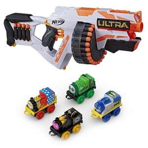 Nerf Ultra One Motorised Blaster + Thomas & Friends DC Comics Minis 4 Pack £40.48 Using Code + Free Delivery @ Bargain Max