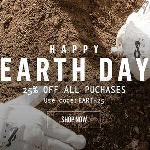 25% Off ALL House Of Marley Product (Earth Day Special)