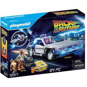 Playmobil 70317 Back To The Future DeLorean £47.79 pre order at Jadlam Toys and Models
