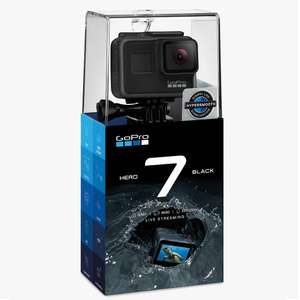 GoPro HERO7 Black Camcorder, 4K Ultra HD, 60 FPS, 12MP, Wi-Fi, Waterproof, GPS £219.99 delivered @ John Lewis & Partners