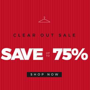Up to 75% off at Brown Bag Clothing sale (£4.95 delivery / Free on £75 spend)