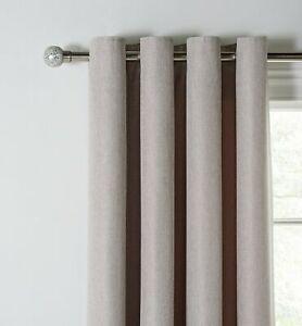 Argos Home Basket Weave Lined Curtains - 117x137cm - Natural - £13.99 @ Argos / eBay