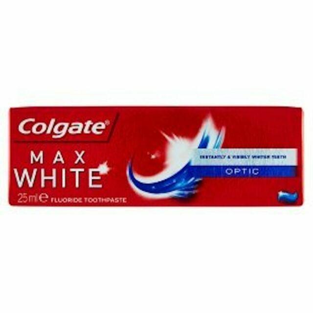 Colgate Max White Optic toothpaste 25ml 37 @ Tesco