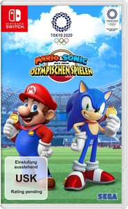Mario & Sonic at the Olympic Games Tokyo 2020 (German Version, Used Very Good) Only £27.76 @ Amazon