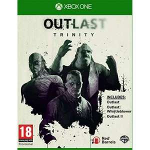 [Xbox One] Outlast Trinity - £6.95 delivered @ The Game Collection