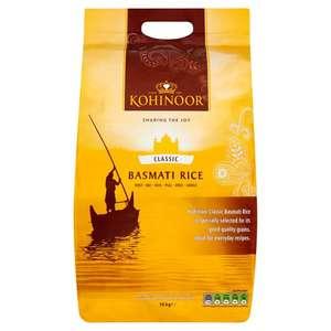 Kohinoor Classic Basmati Rice 10Kg £14 @ Tesco (Min basket £40 + up to £4 delivery)