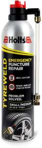 Holts 400ml Emergency Puncture Repair Kit, £3.50 Prime / £7.98 non prime at Amazon