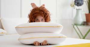 The Memory Foam Pillow - Get 2 pillows for the price of 1 AND Free Delivery £59 at Eve Sleep