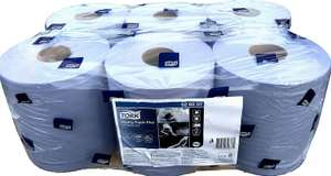 Tork Wiping Paper Plus Centrefeed in Blue, 6 x 157.5m £15.99 @ Costco
