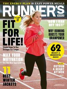 12 issues of Runner's World Magazine with Free Camelbak Hydrobak Hydration Pack 50oz £38.99 at Hearst magazines (possible £6.40 Quidco)