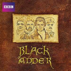 Google Play : Black Adder Complete Series - Seasons 1-4 in SD for £10.99
