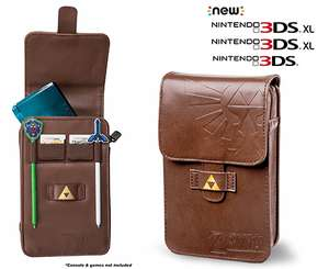 PowerA The Legend of Zelda: Adventurer's Pouch Kit (3DS XL/3DS) £8.91 (Prime) / £11.90 (Non-Prime) Delivered @ Amazon