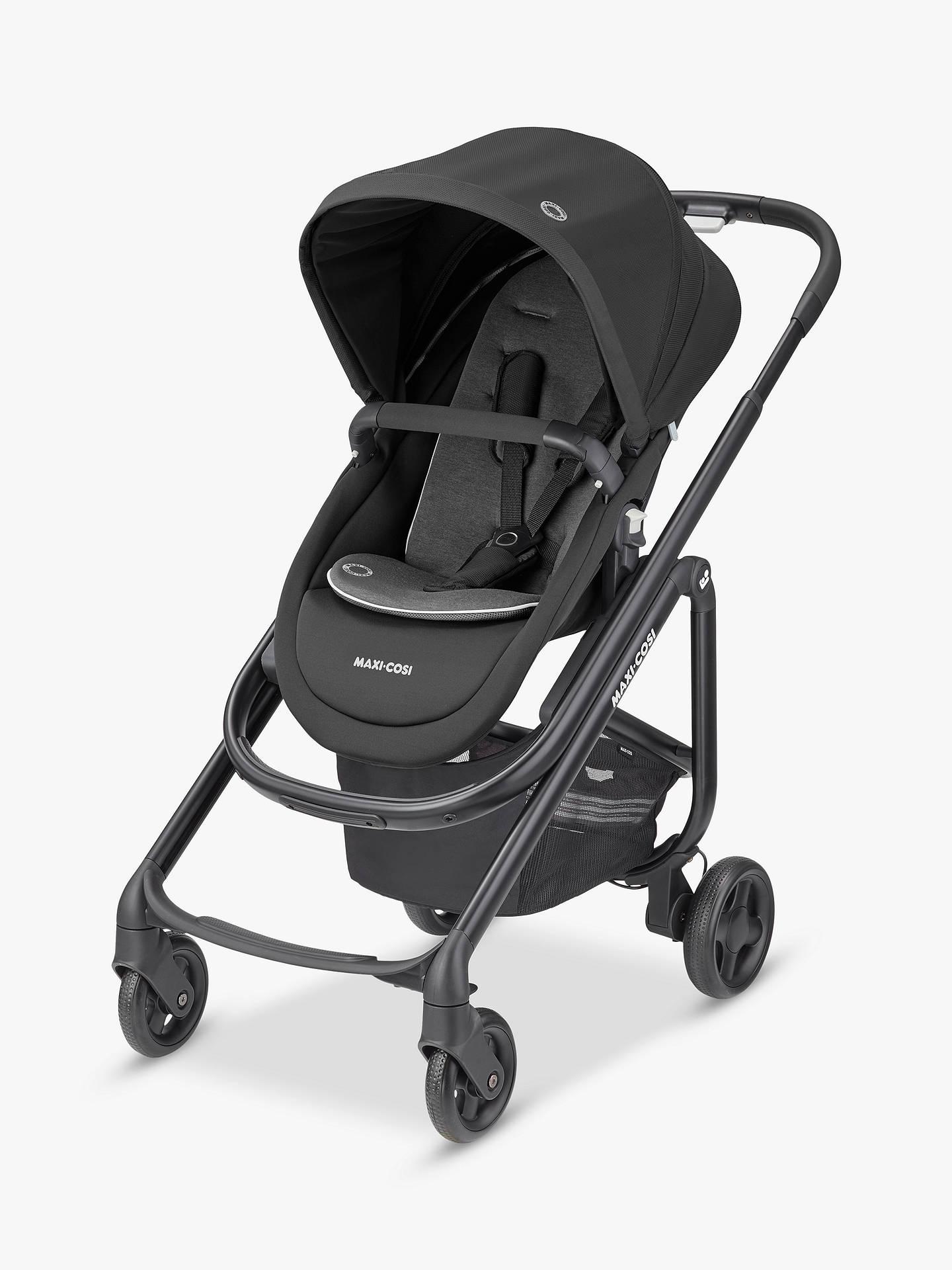 Maxi-Cosi Lila SP Pushchair, Essential Black and Maxi-Cosi CabrioFix Car Seat, Essential Graphite bundle £399 @ John Lewis & Partners