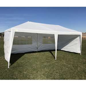 Palm Springs 3M x 6M Party Tent Marquee with 4 Panels - £39.99 delivered @ The Sports HQ