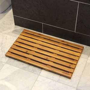 Maison & White Bamboo Duckboard Bath Mat £9.99 Delivered Using Code @ Roov