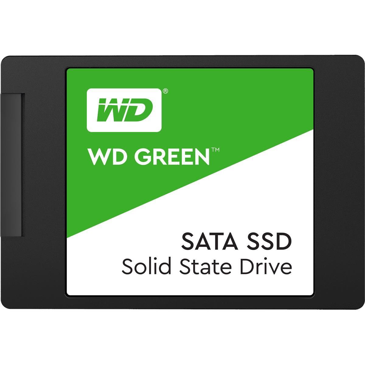 Western Digital Green 480 GB Internal SSD 2.5 Inch SATA, £49.99 delivered with code at Western Digital Shop
