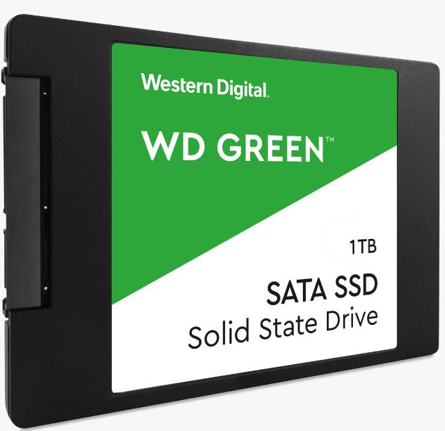 Western Digital Green 1 TB Internal SSD 2.5 Inch SATA + 3 Year Warranty - £91.99 with code delivered @ Western Digital Shop