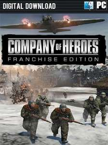 Company of Heroes Franchise Edition (PC Steam) £12.12 @ Chrono