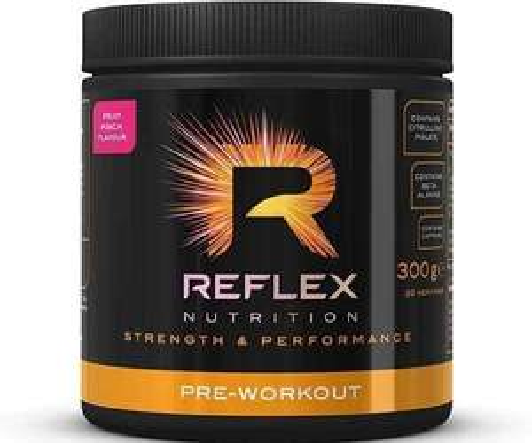 Reflex Nutrition Pre-Workout 300g Powder £10 @ Cardiffsportsnutrition (£2.99 P&P)