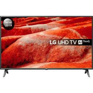 LG 50UM7500PLA UM7500 50 Inch TV Smart 4K Ultra HD LED Freeview HD and Freesat - £379.05 @ AO / eBay